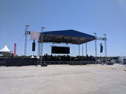 60'x40' Concert Stage and Roof