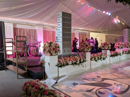 Wedding With Rotating Stage