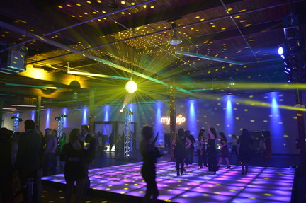 LED Floor and full lighting