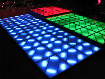 Multi Level Dance Floor
